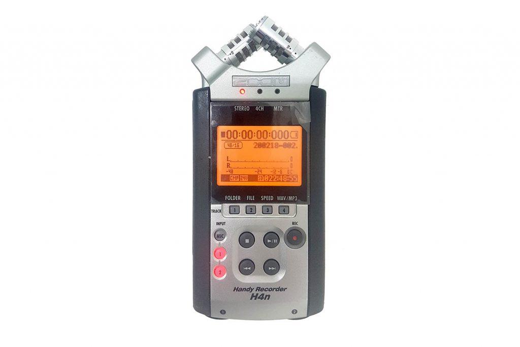 מקליט אודיו Zoom H4N